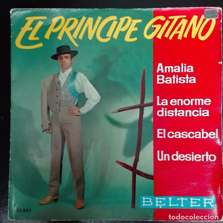 EL PRINCIPE GITANO - AMALIA BATISTA +3 1968 EP BELTER (Música - Discos de Vinilo - EPs - Flamenco, Canción española y Cuplé)