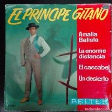 Discos de vinilo: EL PRINCIPE GITANO - AMALIA BATISTA +3 1968 EP BELTER. Lote 79878581