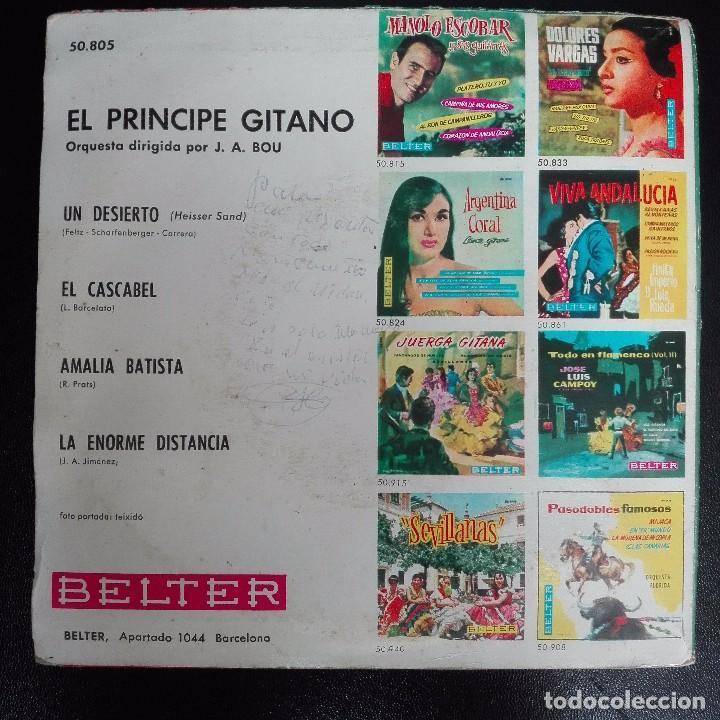 Discos de vinilo: El Principe Gitano - Amalia Batista +3 1968 EP BELTER - Foto 2 - 79878581
