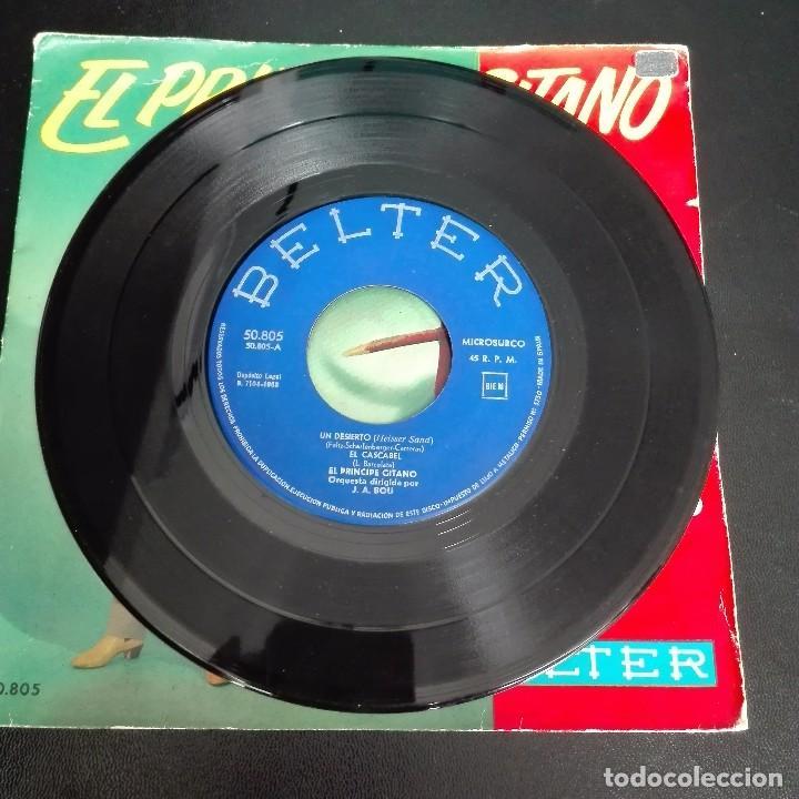 Discos de vinilo: El Principe Gitano - Amalia Batista +3 1968 EP BELTER - Foto 3 - 79878581