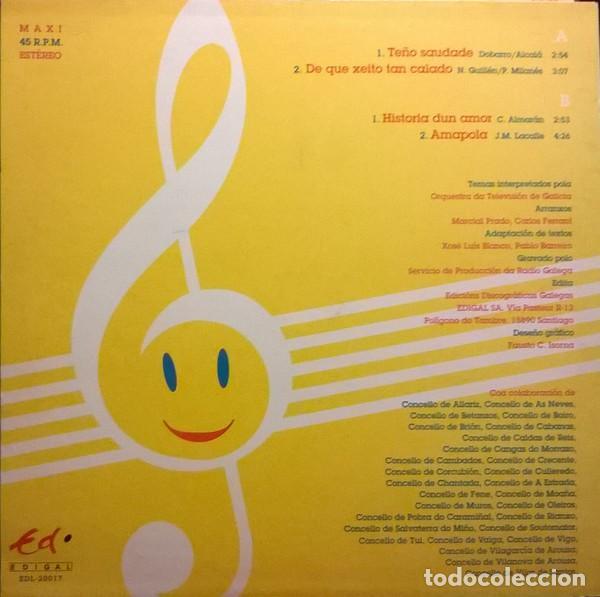 Discos de vinilo: Orquestra Da Televisión De Galicia-Mil Festas Máis Para A Lingua Galega, Edigal-EDL-20017 - Foto 2 - 79893109