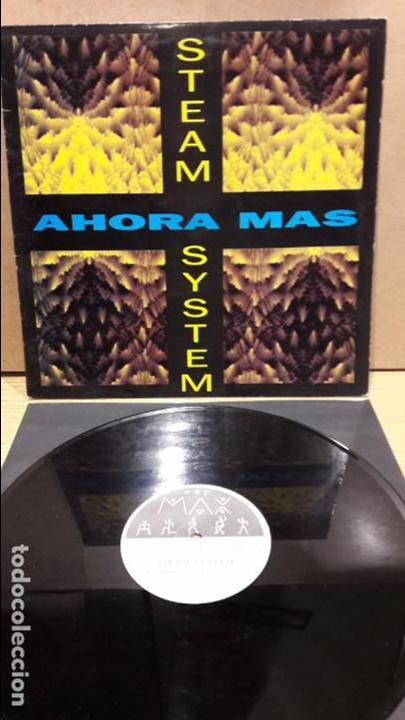 STEAM SYSTEM. AHORA MAS. MAXI SG / MAX MUSIC - 1993 / MBC. ***/*** (Música - Discos de Vinilo - Maxi Singles - Techno, Trance y House)
