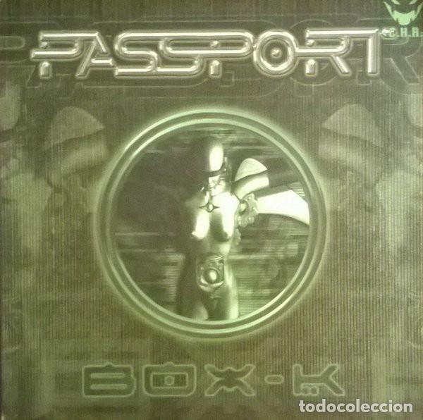 PASSPORT-BOX-K, C.H.R-CHR-526 (Música - Discos de Vinilo - Maxi Singles - Electrónica, Avantgarde y Experimental)