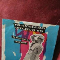 Discos de vinilo: TRAVELLING WILBURYS WILBURY TWIST/NEW BLUE MOON. Lote 79903726