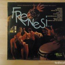 Discos de vinilo: ARMANDO ZULUETA - FRENESI - LP. Lote 79907585