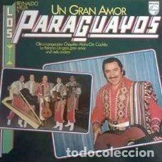 Discos de vinilo: REYNALDO MEZA Y LOS PARAGUAYOS- UN GRAN AMOR, PHILIPS-6302 045. Lote 79909909