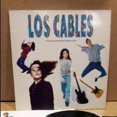 Discos de vinilo: LOS CABLES. HACER SIEMPRE LO MISMO. LP / MERCURY - 1992 / MBC. ***/***. Lote 79911413