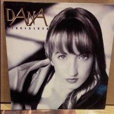 Discos de vinilo: DANA / DIECISIETE. LP / CBS-SONY - 1991 / MBC. ***/***. Lote 79913861
