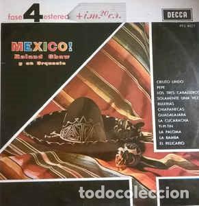 ROLAND SHAW Y SU ORQUESTA-¡MÉXICO!, DECCA-PFS 4027 (Música - Discos - LP Vinilo - Orquestas)