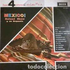 Discos de vinilo - Roland Shaw Y Su Orquesta-¡México!, Decca-PFS 4027 - 79914201