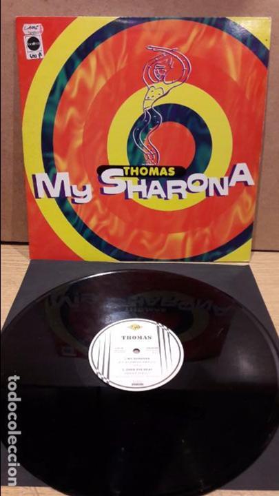 THOMAS. MY SHARONA. MAXI SG / MAX MUSIC - 1995-SPAIN / MBC. ***/*** (Música - Discos de Vinilo - Maxi Singles - Disco y Dance)