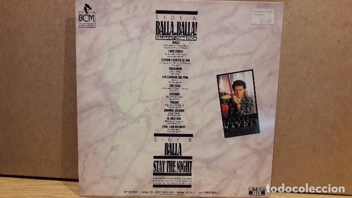 Discos de vinilo: FRANCESCO NAPOLI. BALLA, BALLA. MAXI SG / BOY RECORDS - 1987 / MBC. ***/*** - Foto 2 - 79915385