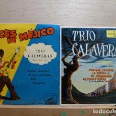 TRIO CALAVERAS -LOTE DE 2 EP,S-