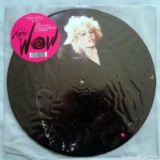 Discos de vinilo: KYLIE MINOGUE: WOW, MAXISINGLE LTD PICTURE DISC PARLOPHONE 50999 52094 0 1. UK, 2008. MINT. UNPLAYED. Lote 79940777