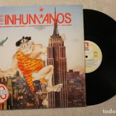 Discos de vinilo: LOS INHUMANOS NO PROBLEM LP VINYL MADE IN SPAIN 1990. Lote 79942849