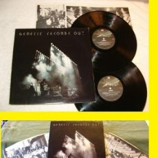 Discos de vinilo: GENESIS / SECONDS OUT 1977 !! DOBLE LP !! COMPLETA 1ª EDIC. ORIG USA + ENCARTES !! TODO IMPECABLE. Lote 79962443
