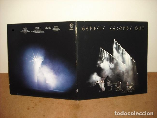 Discos de vinilo: GENESIS / seconds out 1977 !! DOBLE LP !! COMPLETA 1ª EDIC. ORIG USA + ENCARTES !! TODO IMPECABLE - Foto 7 - 79962443