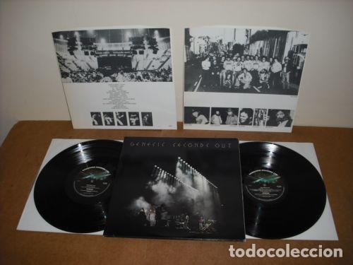 Discos de vinilo: GENESIS / seconds out 1977 !! DOBLE LP !! COMPLETA 1ª EDIC. ORIG USA + ENCARTES !! TODO IMPECABLE - Foto 8 - 79962443
