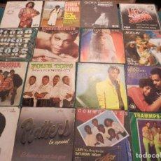 Discos de vinilo: LOTE DE 52 SINGLES SOUL Y SIMILARES (JOE BATAAN-ROBERTA FLACK-FOUR TOPS-TRAMMPS-COMMODORES...). Lote 79965625