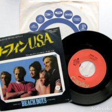 Discos de vinilo: THE BEACH BOYS - SURFIN' USA - SINGLE CAPITOL RECORDS 1973 (EDICIÓN JAPONESA) BPY. Lote 79978733
