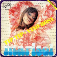 Discos de vinilo: MARISOL - TIP TIP + VINO ROSA SINGLE 1970. Lote 79994641