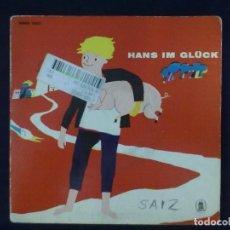 Discos de vinilo: HANS IM GLUCK CUENTO. Lote 79995429