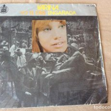 Discos de vinilo: KARINA. YO TE DIRÉ / ENGAÑADA. HISPAVOX 1971. Lote 80000725
