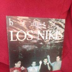 Discos de vinilo: LOS NIKIS BRUTUS ALGETE ARDE. Lote 80002325