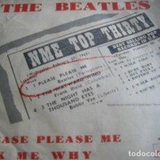 Discos de vinilo: BEATLES SU DIFICIL PRIMER SINGLE EDITADO EN ESPAÑA-100X100 ORIGINAL. Lote 80010065