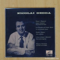 Discos de vinilo: NICOLAI GEDDA - MANON + 3 - EP. Lote 80013942
