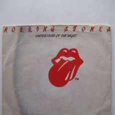 Discos de vinilo: ROLLING STONES: UNDERCOVER OF THE NIGHT - SINGLE PROMOCIONAL. Lote 80036013