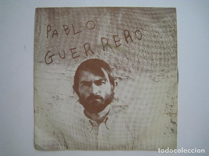 PABLO GUERRERO - POR UNA CALLE DE LONDRES - 7'' ACCION 1970 (Música - Discos de Vinilo - Maxi Singles - Solistas Españoles de los 70 a la actualidad)