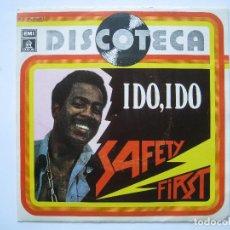 Discos de vinilo: SAFETY FIRST ( SERIE DISCOTECA ) - I DO, I DO / DON'T CUT ME DOWN - 7'' SINGLE ODEON 1977 SPAIN. Lote 80054673