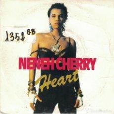 Discos de vinilo: NENEH CHERRY - HEART (SINGLE PROMO ESPAÑOL DE 1990). Lote 80068909