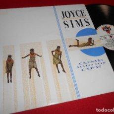 Discos de vinilo: JOYCE SIMS COME INTO MY LIFE LP 1988 LONDON EDICION ESPAÑOLA SPAIN. Lote 142051436