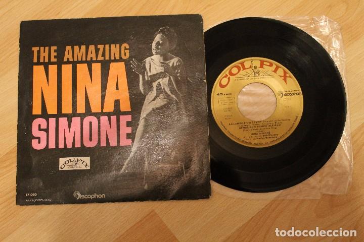 THE AMAZING NINA SIMONE BAILANDO EN EL SAVOY EP 1960 (Música - Discos de Vinilo - EPs - Jazz, Jazz-Rock, Blues y R&B)