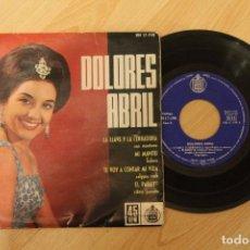 Discos de vinilo: DOLORES ABRIL LA LLAVE Y LA CERRADURA EP 1962. Lote 80096513