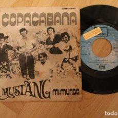 Discos de vinilo: LOS MUSTANG MI MUNDO COPACABANA PROMOCIONAL 1972. Lote 80097001