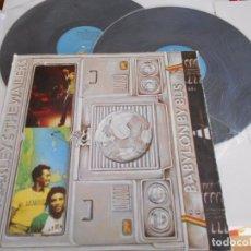 Discos de vinilo: DOBLE LP DE BOB MARLEY & THE WAILERS BABYLON BY BUS ESPAÑOL 1978 ENCARTES.. Lote 80107317