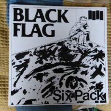 Discos de vinilo: BLACK FLAG-SIX PACK. Lote 80115805