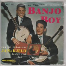 Discos de vinilo: JAN ET KJELD / BANJO BOY + 1 - JOE FERRER / BLUE GUITAR / ROCKIN' CRICETS (EP FRANCES). Lote 80115849
