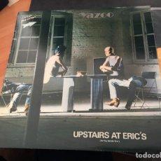 Discos de vinilo: YAZOO (UPSTAIRS AT ERIC'S) LP ESPAÑA 1982 (VIN-N). Lote 121834880