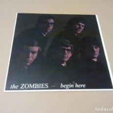Discos de vinilo: THE ZOMBIES - BEGIN HERE (LP REEDICIÓN, LK 4679) NUEVO. Lote 187805107