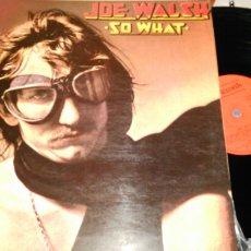 Discos de vinilo: JOE WALSH LP SO WHAT.ESPAÑA 1976.CARPETA DOBLE. Lote 80143107