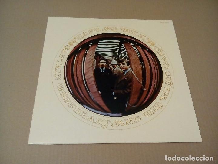CAPTAIN BEEFHEART AND HIS BAND - SAFE AS MILK (LP REEDICIÓN, KAMA SUTRA MUSIC BDS 5001) NUEVO (Música - Discos de Vinilo - EPs - Pop - Rock Extranjero de los 70)