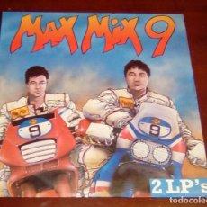 Discos de vinil: MAX MIX 9 - DOBLE 2.LP - 1989. Lote 80159521
