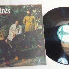 Discos de vinilo: SOM TRES - DISCO LP - ODEON AÑO 1969. Lote 80191563