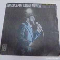 Discos de vinilo: SINGLE. BILLY PAUL. GRACIAS POR SALVAR MI VIDA. 1974. CBS. Lote 80194717