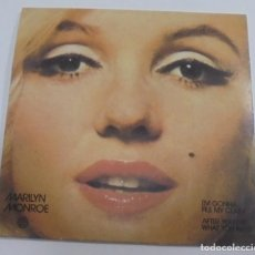 Discos de vinilo: SINGLE. MARILYN MONROE. I'M GONNA FILE MY CLAIM / AFTER YOU GET WHAT YOU WANT.. Lote 80195641