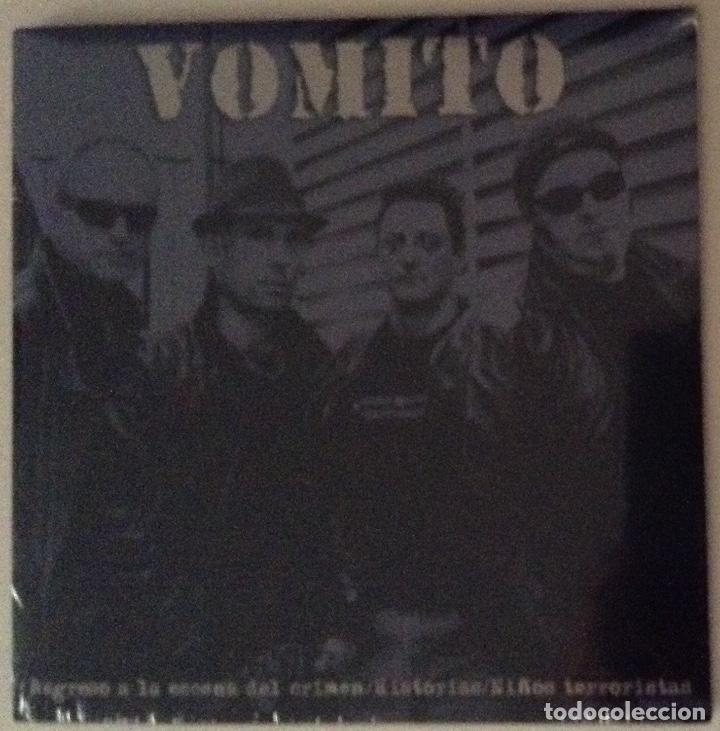 VOMITO PUNK ROCK RADIKAL VASCO REGRESO A LA ESCENA DEL CRIMEN (Música - Discos de Vinilo - EPs - Punk - Hard Core)